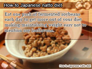 How-to Japanese natto diet