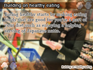 Building on healthy eating