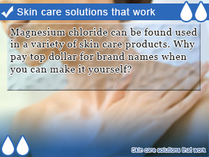 Skin care solutions that work