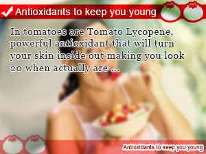 Antioxidants to keep you young