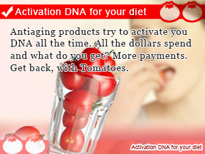 Activation DNA for your diet