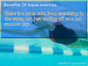 Benefits Of Aqua-exercise