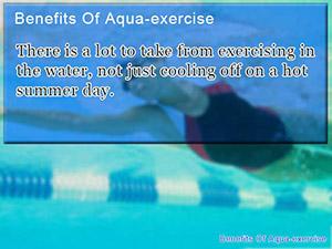 Benefits Of Aqua-exercise