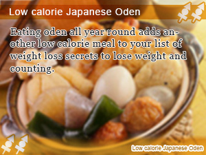 Low calorie Japanese Oden