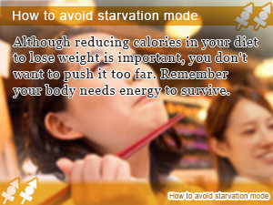 How to avoid starvation mode