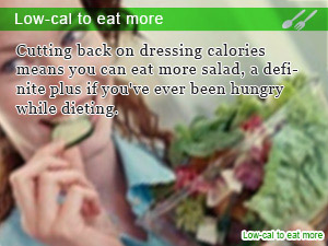 Low-cal to eat more