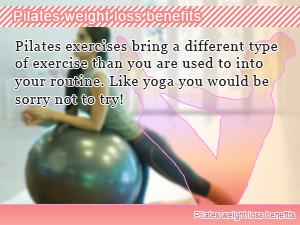 Pilates weight loss benefits
