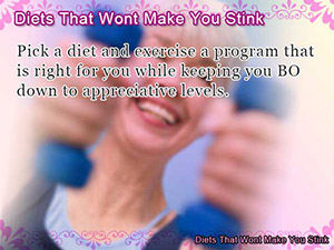Diets That Wont Make You Stink