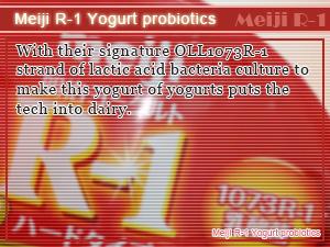 Meiji R-1 Yogurt probiotics