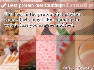 Best protein diet roundup