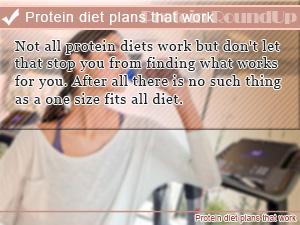 Protein diet plans that work