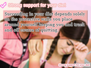 Strong support for your diet