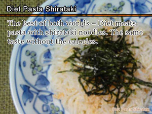 Diet Pasta Shirataki