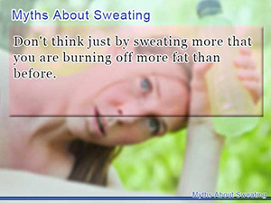 Myths About Sweating