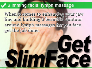 Slimming facial lymph massage