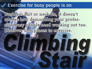Exercise for busy people is on