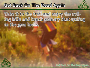 Get Back On The Road Again