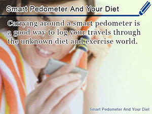 Smart Pedometer And Your Diet