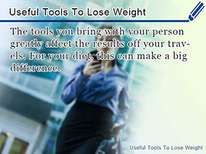 Useful Tools To Lose Weight