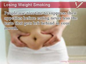 Losing Weight Smoking