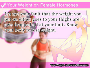 Your Weight on Female Hormones