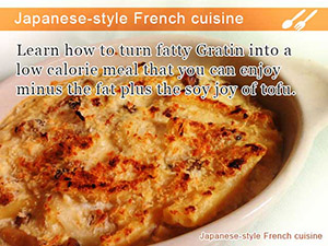 Japanese-style French cuisine
