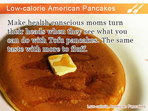 Low-calorie American Pancakes