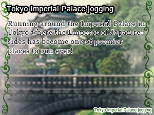 Tokyo Imperial Palace jogging
