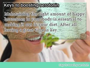 Keys to boosting serotonin