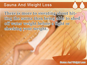 Sauna And Weight Loss