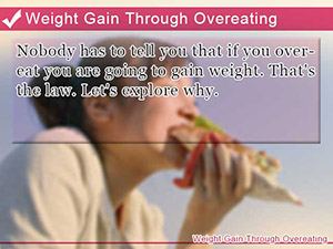 Weight Gain Through Overeating