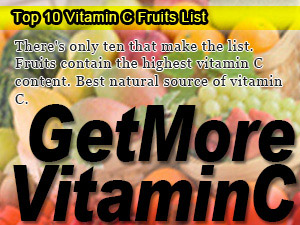 Top 10 Vitamin C Fruits List