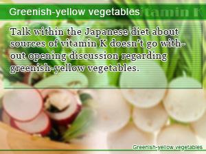 Greenish-yellow vegetables