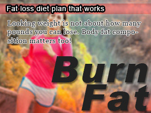 Fat loss diet plan that works