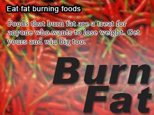 Eat fat burning foods