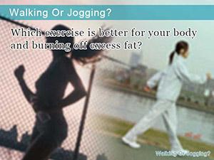 Walking Or Jogging?