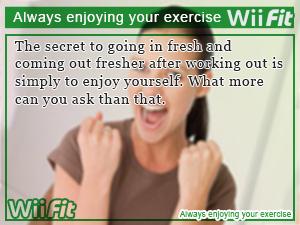Always enjoying your exercise