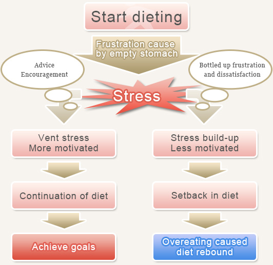 how stress affect your diet