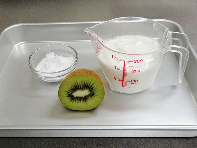 kiwi frozen yogurt recipe ingredients