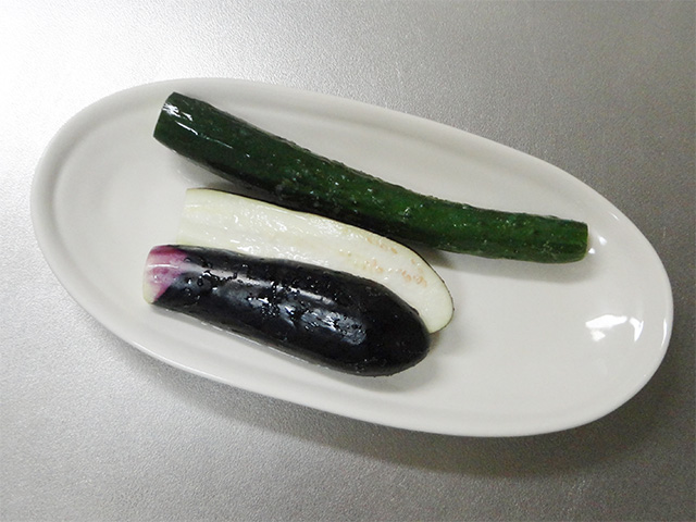 salted yogurt vegetables cucumber eggplant