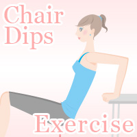 chair dips exercise