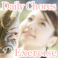 daily chores exercise