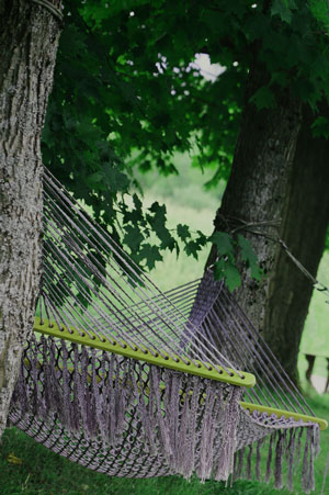 hammock outdoors
