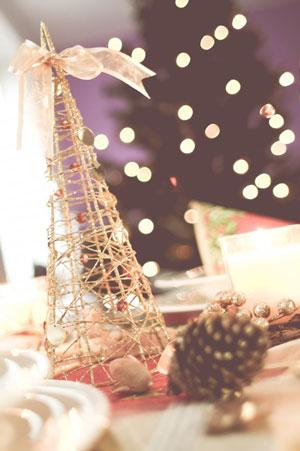 table christmas tree