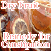 remedy for constipation dry fruit