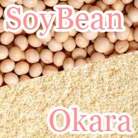soy bean and okara