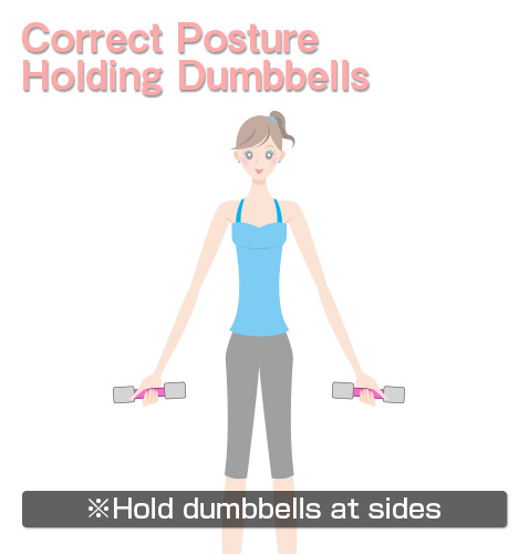 Quick Dumbbell Exercise Illustrated