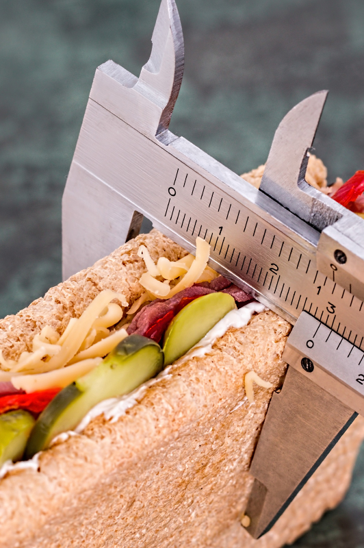 measuring sandwich
