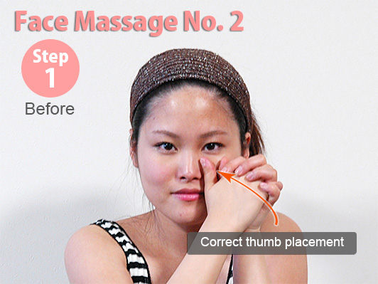 facial massage initial