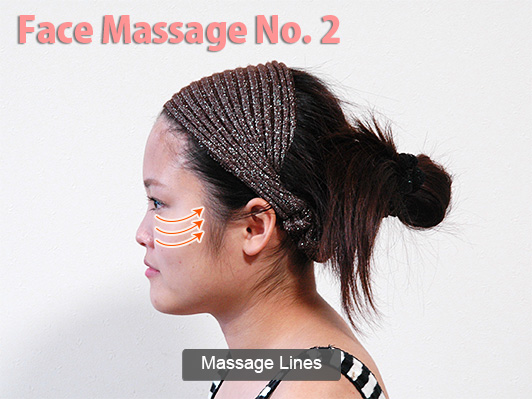 face massage lines